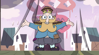 S4E1 Fake King Butterfly appears on stage