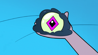 S3E9 Glossaryck's eye appears in Star's hand