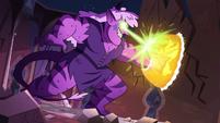 S3E38 Meteora blasting Star's force field