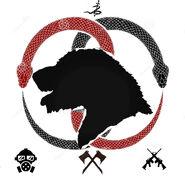 Wolfhound emblem 2