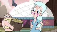 S4E8 Moon and River smile at each other