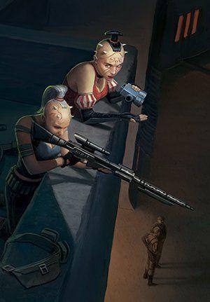 Jas Emari, Alongside Aunt Sugi- By: Fantasy Flight Games
