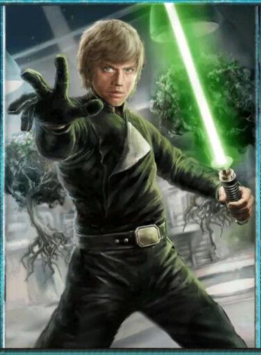 Luke Skywalker, Jedi of the Rebellion - By: KONAMI