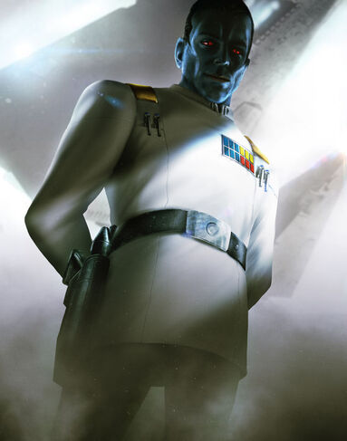Mitth'raw'nuruodo, Chiss Emissary and Imperial Officer - By: Del Rey