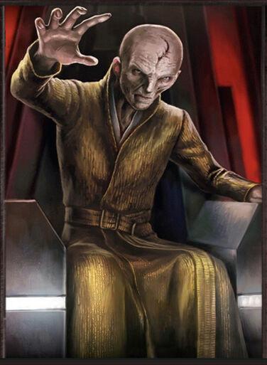 Snoke, Darksider and Supreme Leader of First Order - By: KONAMI