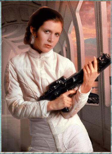 Leia Organa, Princess of Alderaan - By: KONAMI