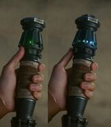 6 Rey Skywalker's lightsaber 3