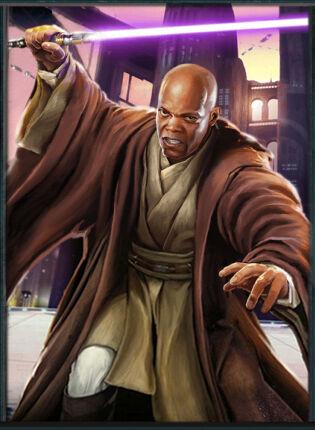 Mace Windu, Master of the Jedi Order - By: KONAMI