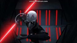 Star Wars Rebels Kanan vs The Inquisitor