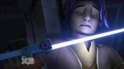 Kanan and Ezra vs. Darth Vader (HD)