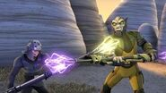 SW Rebels Zeb vs Kallus