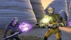 SW Rebels Zeb vs Kallus