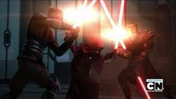 Darth Maul & Savage Opress VS Darth Sidious