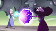 S4E34 Moon and Eclipsa clashing magic