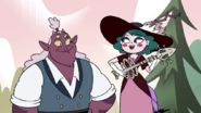 S4E23 Eclipsa sings a song next to Globgor