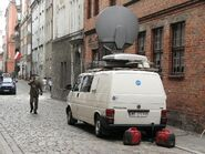 Woz reporterski TVN Poznan