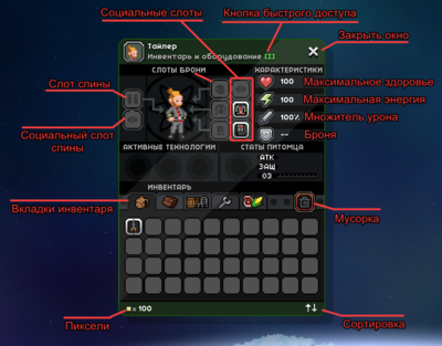 Personage's Equipement.png