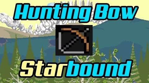 Weapons Hunting Bow - Starbound-1