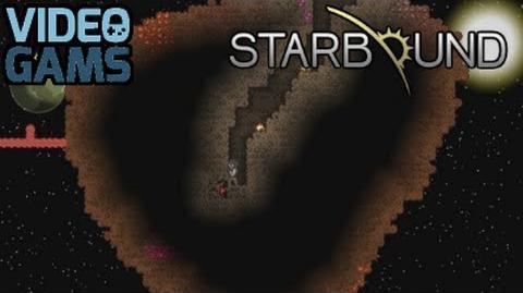 Starbound - Mining an Asteroid