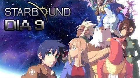 STARBOUND Dia 9 Llegamos al Sector X!!