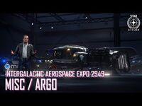 Star Citizen- IAE 2949 - MISC, ARGO