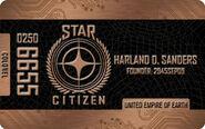 Bronze Colonel Citizens Card - Mockup