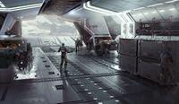 Hercules - artwork int cargo bay