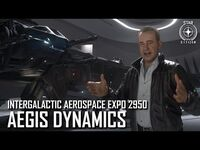 Star Citizen- IAE 2950 – Aegis Dynamics