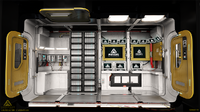 03 Vanguard Sentinel lifepod section starboard side
