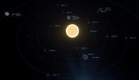 Stanton system - in game starmap