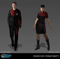 Genesis Starliner - Cabin crew concept
