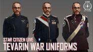 Star Citizen Live Tevarin War Uniforms