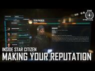 Inside Star Citizen- Making Your Reputation - Winter 2021