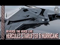 Star Citizen- Reverse the Verse LIVE - Hercules Starlifter & Anvil Hurricane