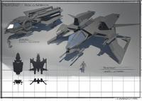 SC MustangAurora Size Comparison