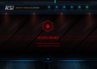Access Denied Subscriber store - old design