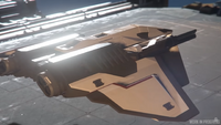 Ares Starfighter Inferno - exterior greybox progress ISC 86 (2)