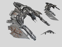 Vanduul Fighter Concept Art