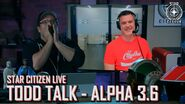 Star Citizen Live Todd Talk - Alpha 3.6 (June)