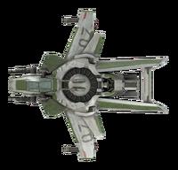 F7A Hornet Mk1 - top