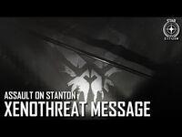 Star Citizen- Assault on Stanton – XenoThreat Message