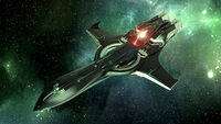 P72 Archimedes Emerald - in flight (1)