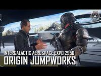 Star Citizen- IAE 2950 – Origin Jumpworks