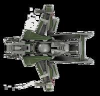 F7A Hornet Mk1 - Bottom