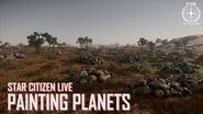 Star Citizen Live Painting Planets