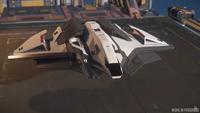 Ares Starfighter Inferno - exterior greybox progress ISC 86 (3)