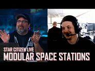 Star Citizen Live Gamedev- Modular Space Stations