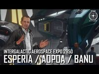 Star Citizen- IAE 2950 – Esperia - Aopoa - Banu