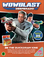 WowBlast Desperado Toy Pistol Advert