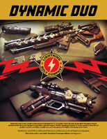"""Atzkav """"Deadeye"""" Sniper Rifle and Yubarev """"Deadeye"""" Pistol poster"""